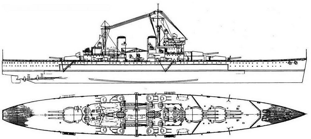 Проект линейного корабля «Лайон» (1938 г.)