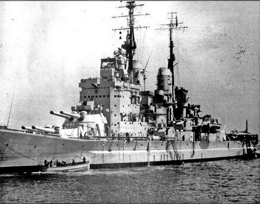 """""""Вэнгард"""" в июне 1953 года"""