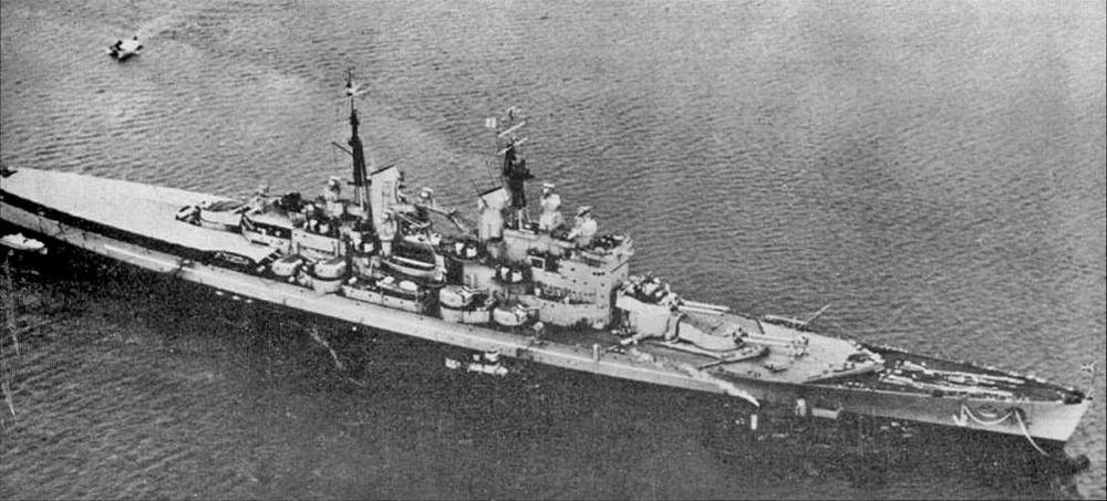 """Вэнгард"" в феврале 1952 г"