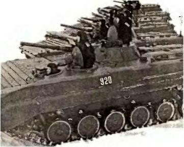 Мини-танки для пехоты — БМП Таманской дивизии