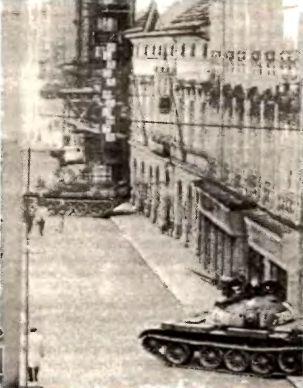 Пражская парковка Т-55