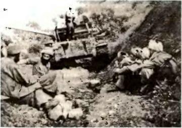 Отдельный нетипичный факт: еще один Т-55 в руках душманов
