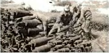 Бывшие снаряды на бывшем Магдебургском полигоне