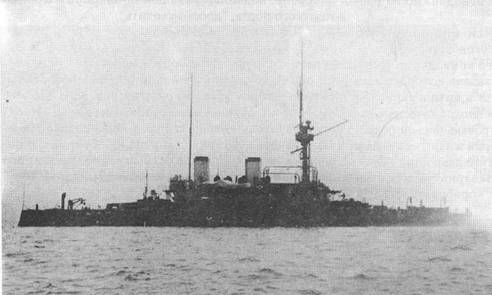 На Ревельском рейде. Сентябрь 1904г.