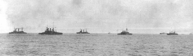 Вторая Тихоокеанская эскадра в походе