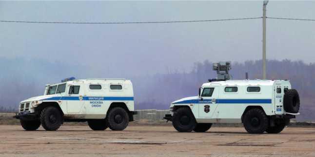 СПМ-1 ГАЗ-233034 «Тигр» демонстрируют свои возможности.