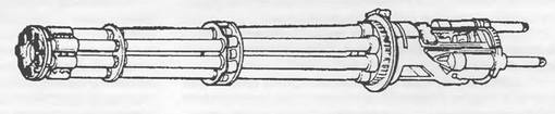 30-мм семиствольная пушка GAU-8A