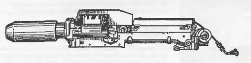 Общий вид гранатомета (вид слева) 9-А-800 «Пламя»