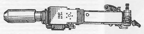 Общий вид гранатомета (вид сверху) 9-А-800 «Пламя»
