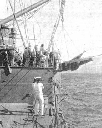 На броненосцах английского флота во время учений. Конец 1890-х – начало 1900-х гг.
