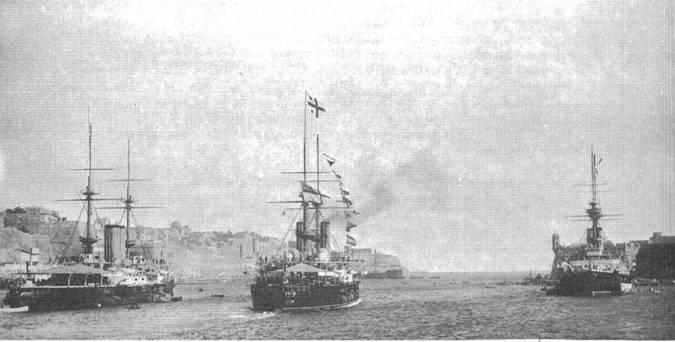 На рейде Мальты. Конец 1890-х – начало 1900-х гг.