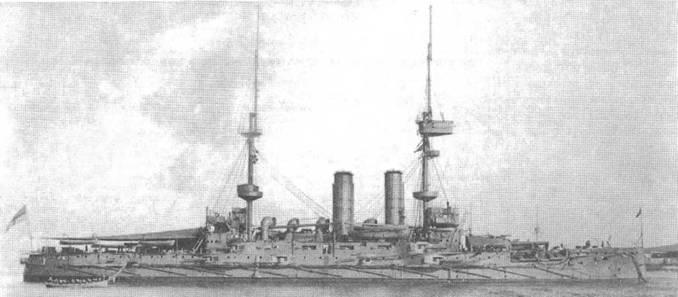 """Броненосец """"Иррезистибл"""". 1908 г."""