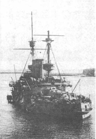 """Имплакейбл"" на рейде Мальты. 1915-1916 гг."
