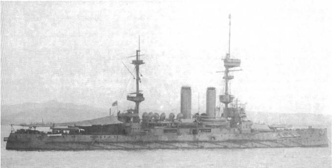 """Имплакейбл"" у острова Мудрое. 1917 г."