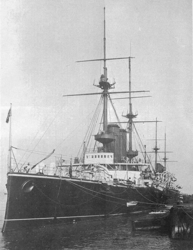 "Броненосец ""Вендженс"". 1905 г."