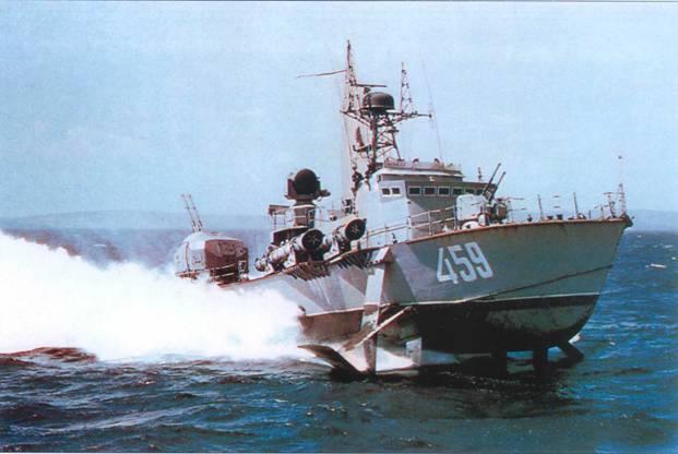 Торпедный катер пр. 206М