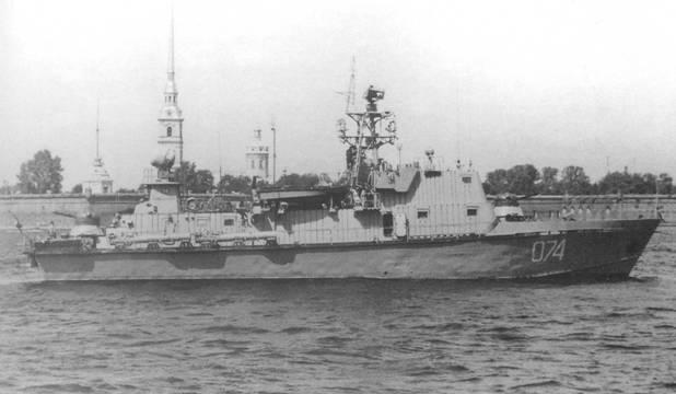 Артиллерийский катер пр. 205П