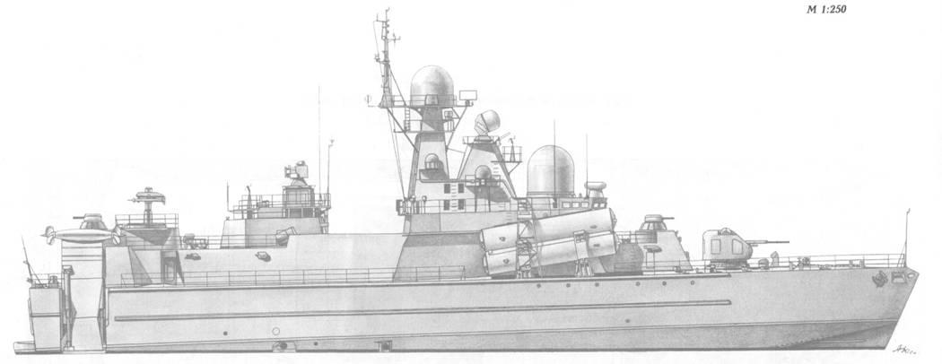 Малый ракетный корабль пр. 1239