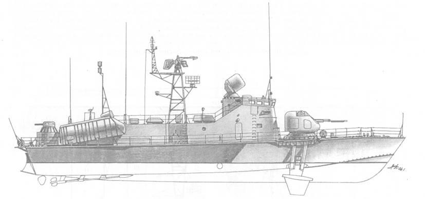 Ракетный катер пр. 206МР