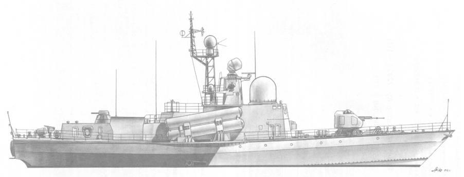 Ракетный катер пр. 12411