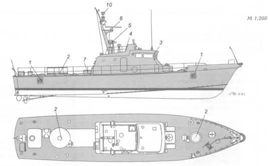 Артиллерийские катера пр. 1400А, 1400Мп пр. 1400Э – • (30)