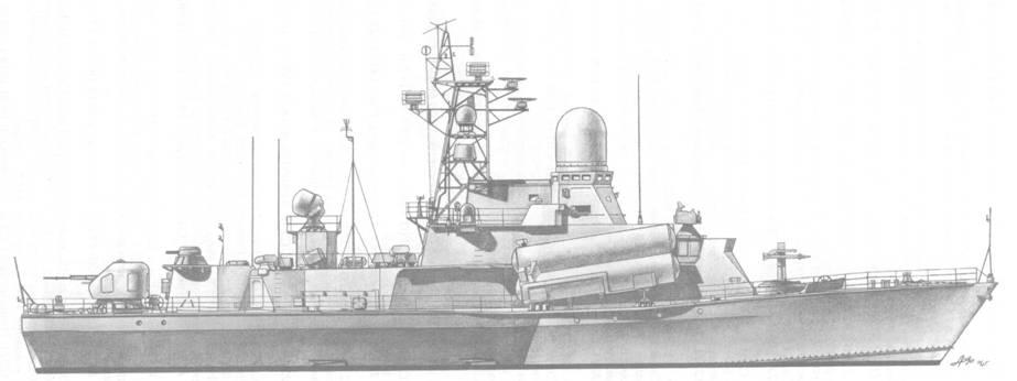Малый ракетный корабль Смерч (пр. 12341)