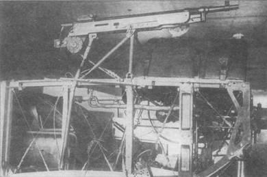 Пулемет «Кольт» с синхронизатором системы Лаврова.