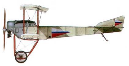 Российский истребитель «Сикорский С-16», 1916 год.