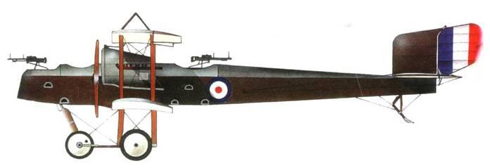 Английский эскортный истребитель «Фейри F.2», 1916 год.