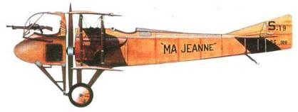 Французский истребитель «СПАД А.2», №19. 1915 год.