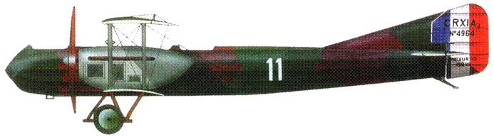 Французский эскортный истребитель «Кодро R.11» №4964. 1917 год.