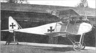«Гальберштатд D.II» из 2 К.е. К.
