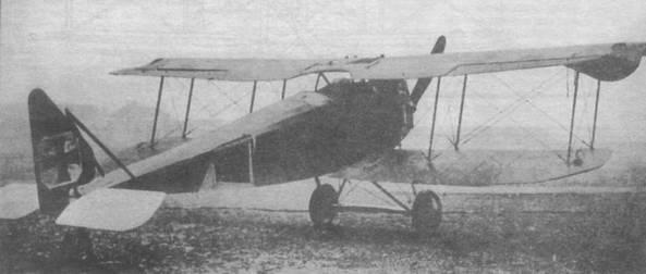 «Гальберштадт D.11» с поврежденной законцовкой крыла.