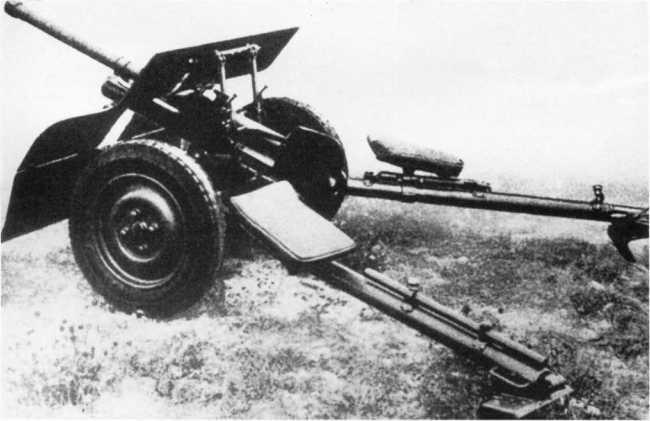 37-мм польская противотанковая пушка Бофорс, использовавшаяся в вермахте под обозначением Pak 36 (р) (АСКМ).