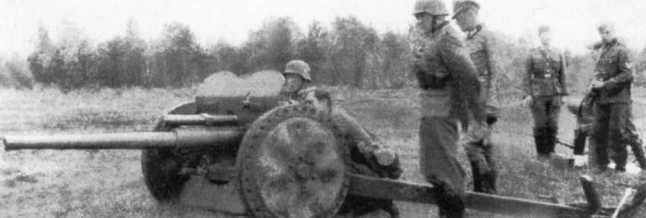 Учения расчета 47-мм противотанкового орудия Pak 181 (f) (противотанковая пушка Шнейдера образца 1937 года) из состава 56-й пехотной дивизии. Весна 1941 года (АСКМ).