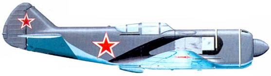 Истребитель Ла-5 «206» на испытаниях в ЦАГИ. 1943г.