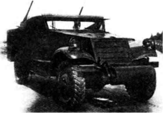 Разведывательный бронетранспортер МЗА1.