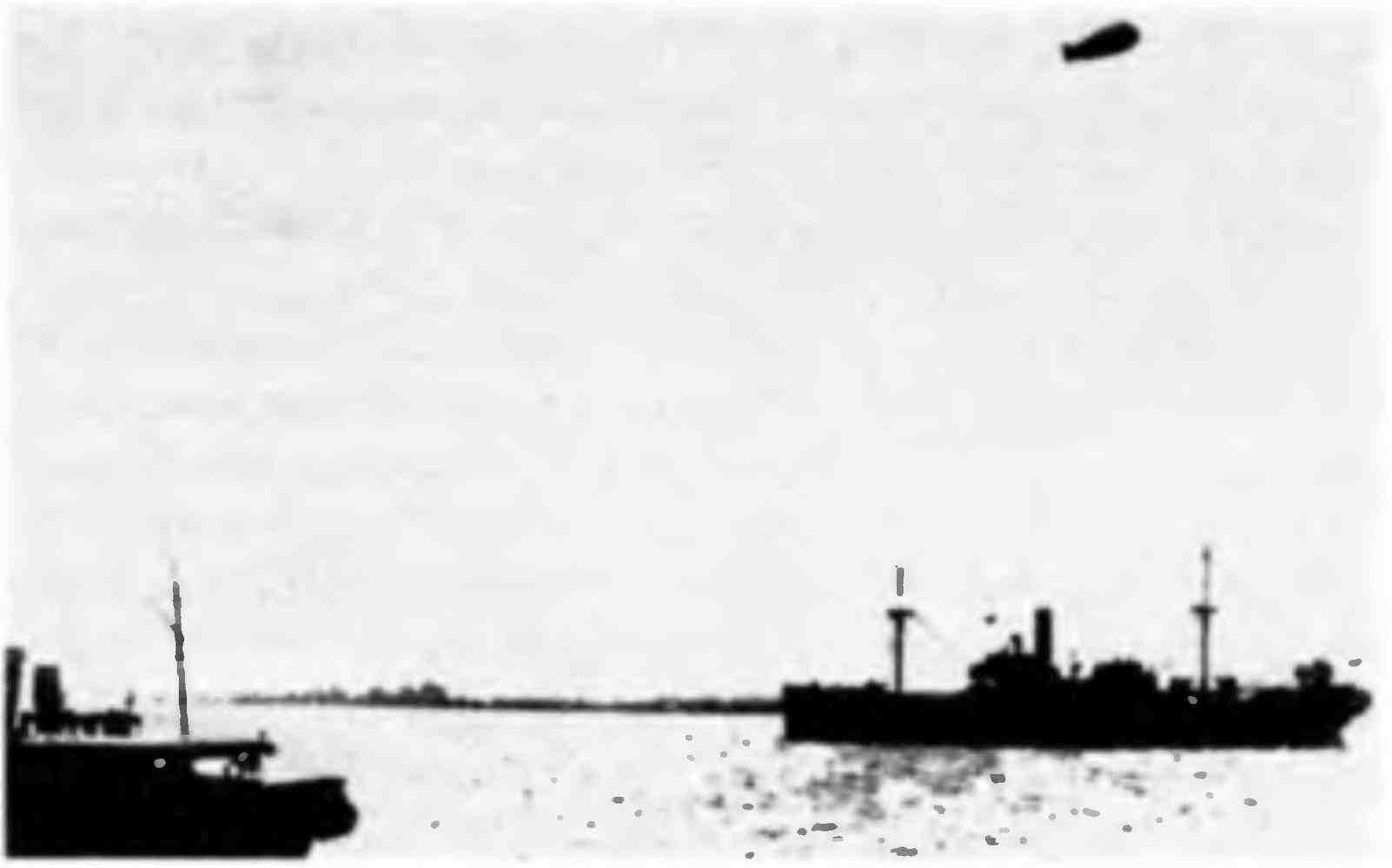 Суда конвоя PQ-18 в Архангельске. Сентябрь 1942 года.