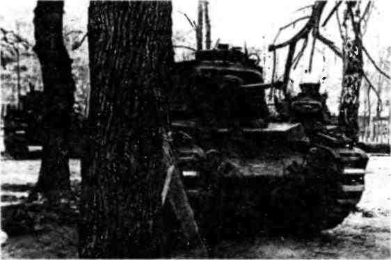 «Матильды» 196-й танковой бригады. 10-я армия, Калининский фронт, 1942 год.