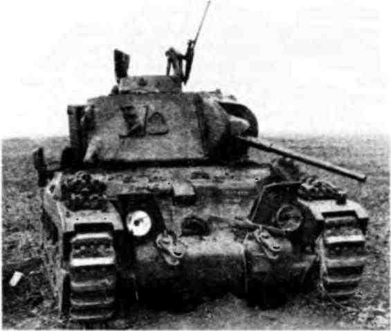 «Матильда», брошенная при отступлении советскими войсками. Юго-Западный фронт, май 1942 года.