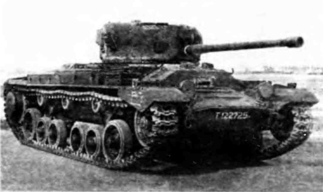 Пехотный танк MK-III «ВалентайнIX» на полигоне в Кубинке.