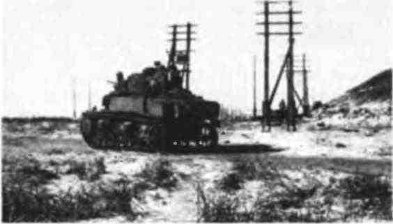 Танк МЗл в районе Сталинграда. Январь 1943 года.