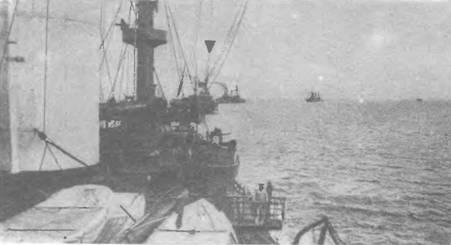 Эскадра в Балтийском море.