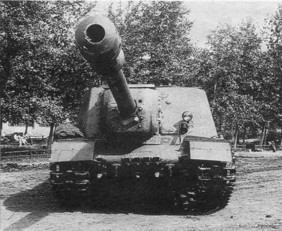 Самоходно-артиллерийские установки на базе ИС-2