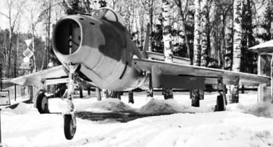 Американский истребитель-бомбардировщик F-84F. Фото Геннадий Шубин