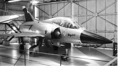 Истребитель Мираж F III BZ французского производства ВВС ЮАР Фото Ян Либенберг