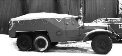 БТР-152 первых выпусков без крыши. Фото Геннадий Шубин