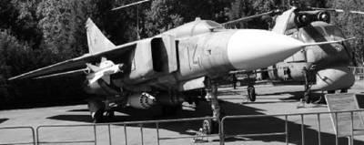 МИГ-23. Фото Виктор Лызло