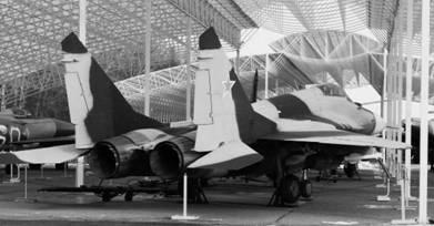 МИГ-29 вид сзади. Фото Геннадий Шубин