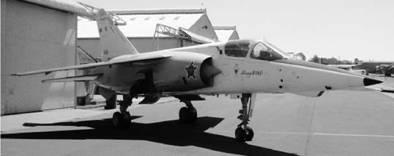 Истребитель Мираж F 1 AZ французского производства ВВС ЮАР Фото Ян Либенберг